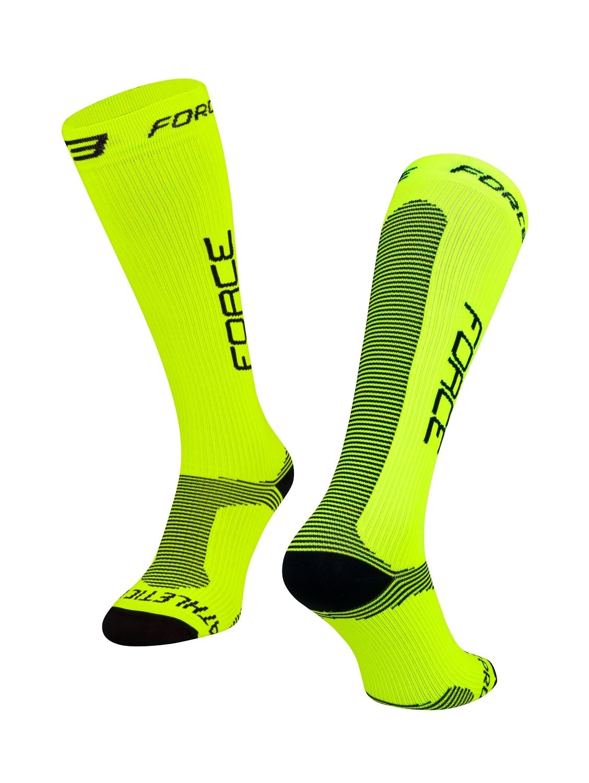 ponožky FORCE ATHLETIC PRO KOMPRES