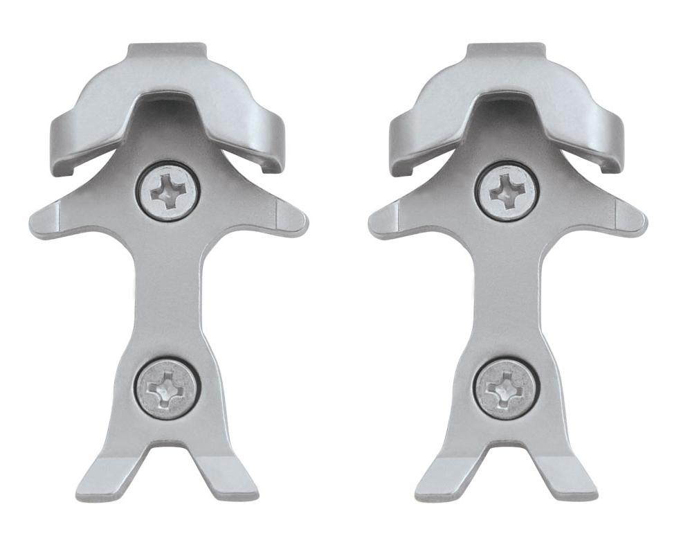 protikus k zarážkám na pedály MTB 1 pár, stříbrný