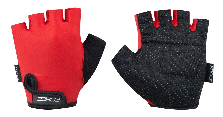 rukavice FORCE KID dětské, červené