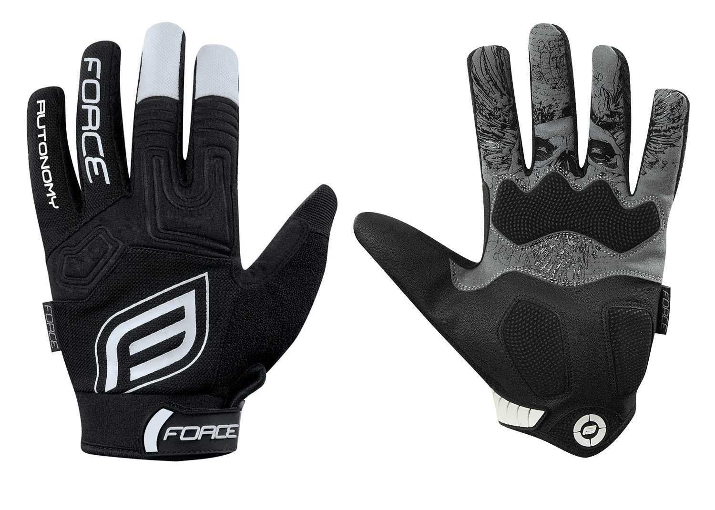 rukavice MTB AUTONOMY černé