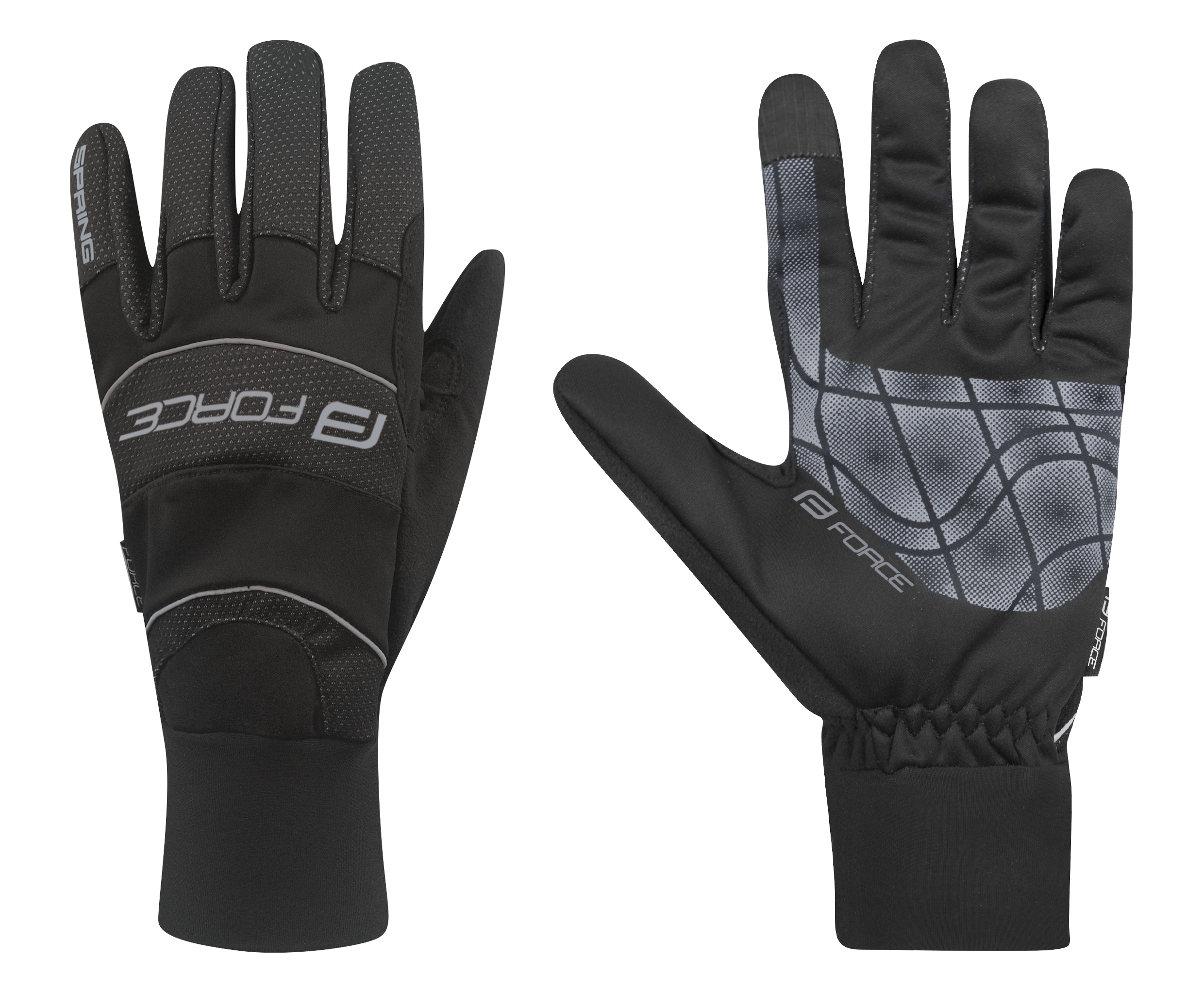 rukavice WINDSTER SPRING černé