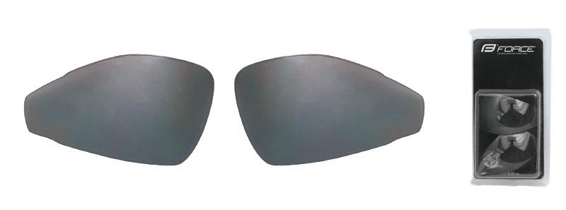 skla náhradní PRO pár, černá laser