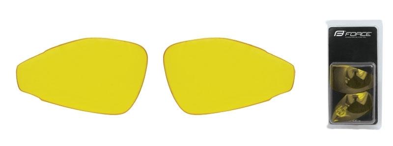 skla náhradní PRO pár, žlutá