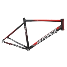frame FORCE TARANIS road,black matt-red