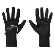 gloves F GALE softshell, spring-autumn, black