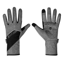 gloves F GALE softshell, spring-autumn, grey