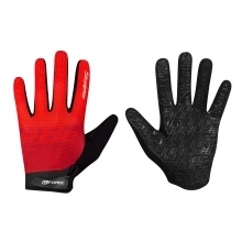 gloves FORCE MTB SWIPE summer, red