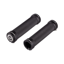 grips FORCE rubber with locking, black, packed