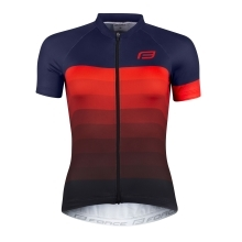 jersey F ASCENT lady,short sl, blue-red