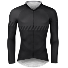 jersey F FASHION, long sleeves, black-grey