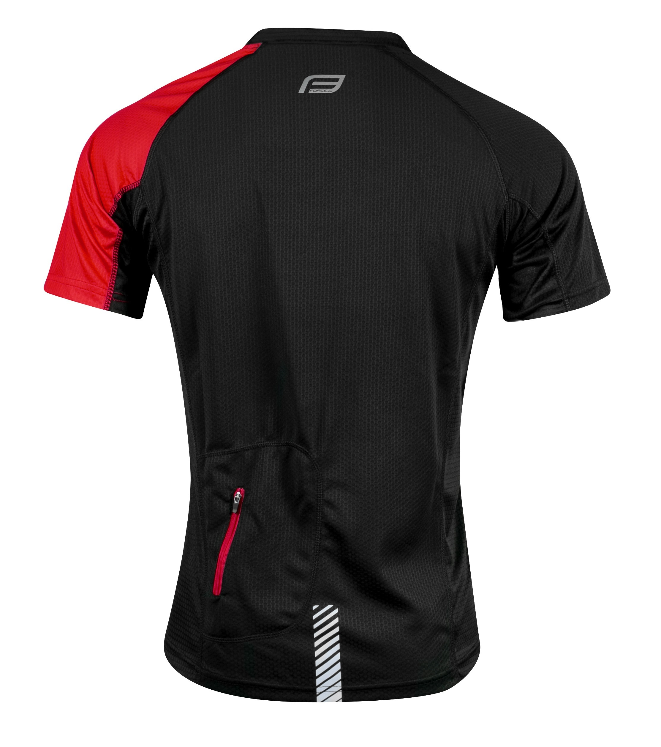 Cycling jersey Force Best Black Red