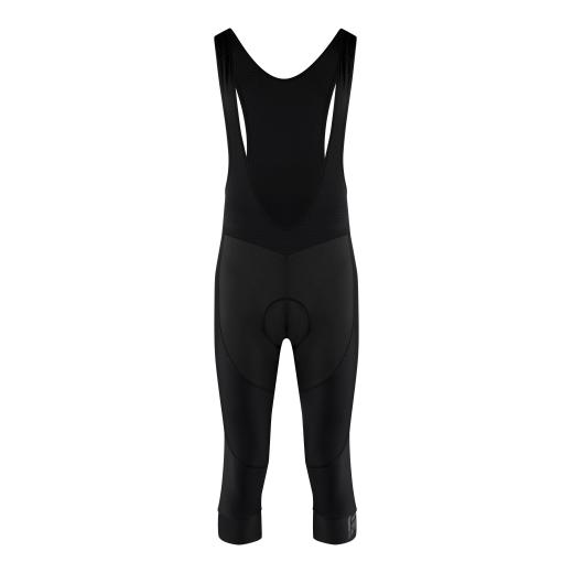 kalhoty 3/4 F BRIGHT se šráky a vložkou, černé