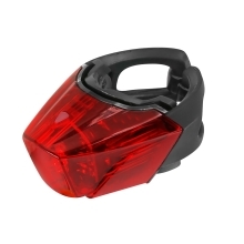light rear FORCE CRYSTAL 30LM, 3x LED, USB