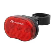 light rear FORCE TRI 3LM 3 LED, battery