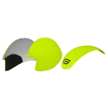 plastic parts for helmet F GLOBE set 3 pcs, fluo