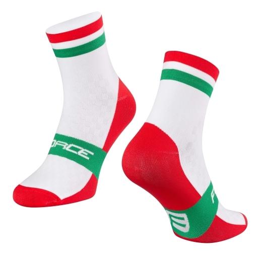 ponožky FORCE FLAG MAĎARSKO
