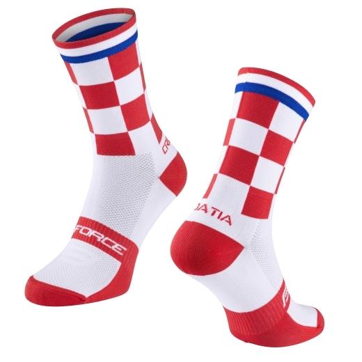 ponožky FORCE LONG PRO CHORVATSKO