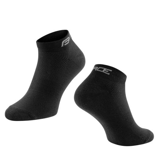 ponožky FORCE SHORT kotníkové, černé