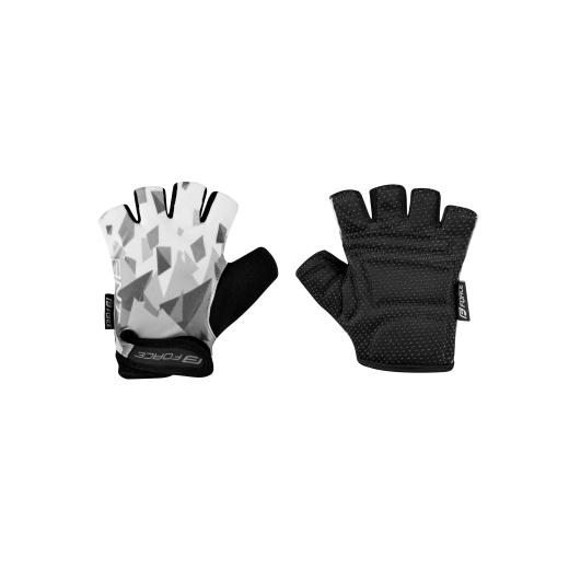 rukavice F ANT dětské, šedo-bílé