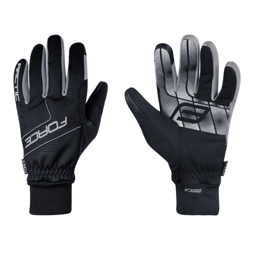 rukavice zimní FORCE ARCTIC, černé