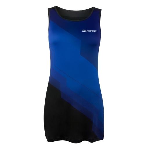 šaty sportovní FORCE ABBY, modro-černé
