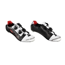 shoes FORCE CAVALIER CARBON, black-white-red
