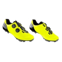 shoes FORCE MTB WARRIOR CARBON, fluo