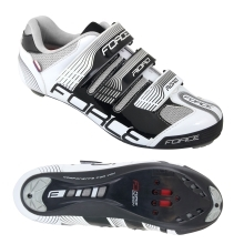 shoes FORCE ROAD, black-white