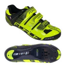 shoes FORCE ROAD, fluo-black