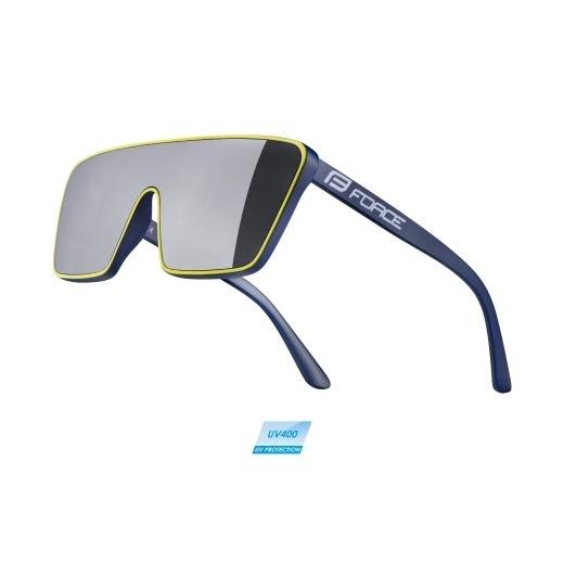sunglasses F SCOPE,WANTY GOBERT,black mirror lens