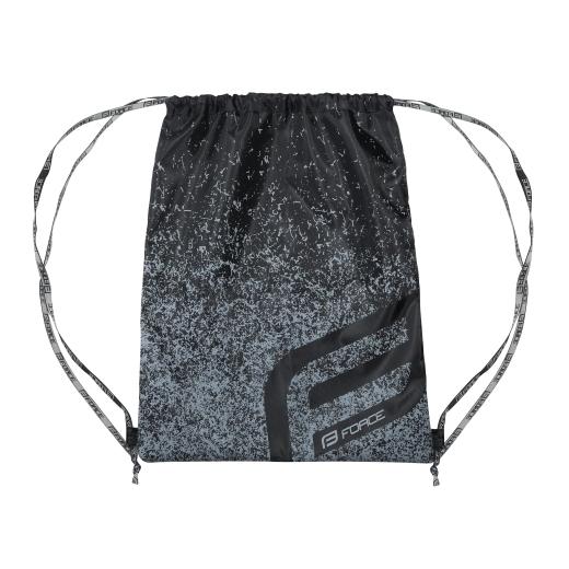 taška-pytel FORCE na přilbu / tretry, černý