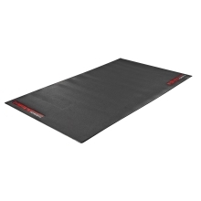 training mat F MAT, PVC for trainers, rollers,blck