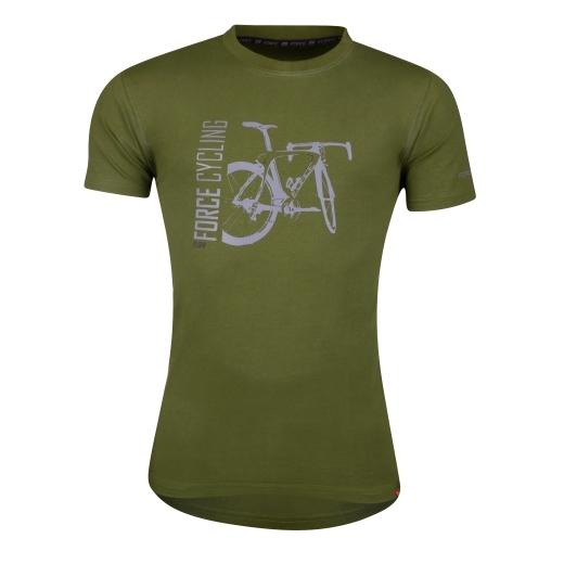 triko FORCE FLOW krátký rukáv,zelené