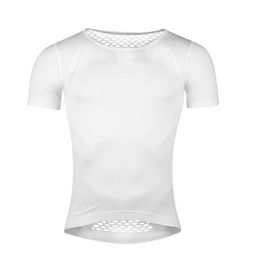 triko funkční  F SUMMER krátký rukáv, bílé